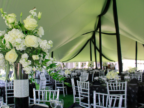 Black And White Tent Wedding Best 2017